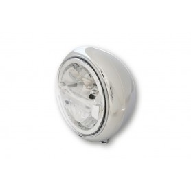 Phares HIGHSIDER HIGHSIDER 7 POUCES PHARE LED HD-STYLE TYPE 4 CHROME 223-154