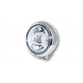 Headlights HIGHSIDER HIGHSIDER PHARE LED HD-STYLE TYPE 2 7 POUCES 223-184