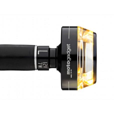 Turn Signals MOTOGADGET CLIGNOTANT MOTOGADGET M-BLAZE DISC DROIT NOIR 6002012