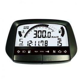 Compteurs ACEWELL COMPTEUR DIGITAL ACEWELL MODELE 5854 NOIR IM-ACE-5854HB