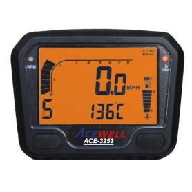 Compteurs ACEWELL COMPTEUR DIGITAL ACEWELL MODELE 3252 NOIR IM-ACE-3252S
