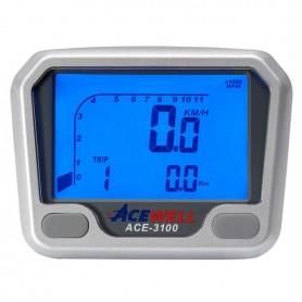 Compteurs ACEWELL COMPTEUR DIGITAL ACEWELL MODELE 3100 NOIR ACE-3100S