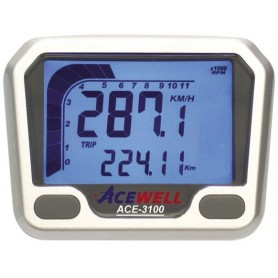 Compteurs ACEWELL COMPTEUR DIGITAL ACEWELL MODELE 3100 SILVER ACE-3100
