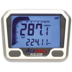 Compteurs ACEWELL COMPTEUR DIGITAL ACEWELL MODELE 3100 SILVER IM-ACE-3100