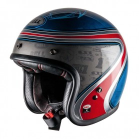 Casques BELL CASQUE BELL CUSTOM 500 AS SPECIAL EDITION AIRTRIX BLEU/ROUGE 7070048