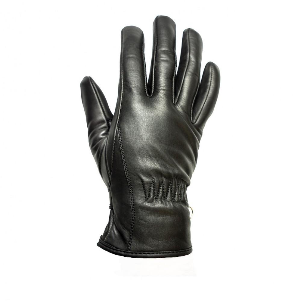 Gants helstons first t cuir noir gants helstons first for Garage 4 fois sans frais 77