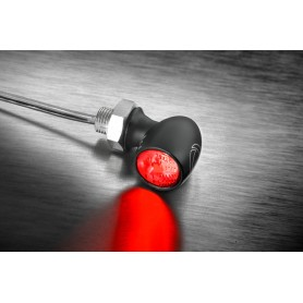 Tail Lights KELLERMANN FEU ARRIERE / FEU STOP LED KELLERMANN BULLET ATTO VERRE CLAIR MONTAGE HORIZONTAL 158.200