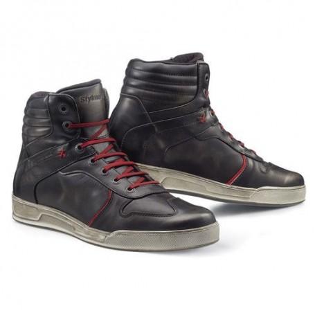 Men's Sneakers STYLMARTIN BASKETS STYLMARTIN IRON NOIR STM-IRON MARRON NEW