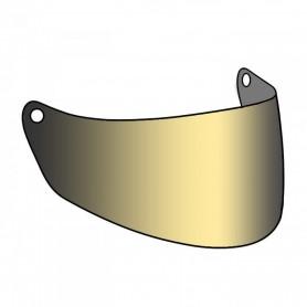 Accessoires Casques PREMIER ECRAN CHROME OR POUR CASQUE PREMIER TROPHY BPVISTROG