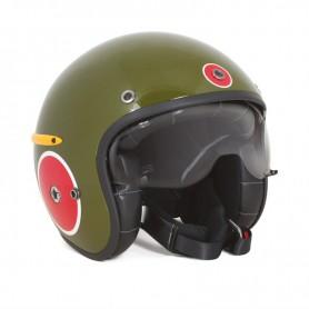 Helmets HARISSON CASQUE HARISSON CORSAIR ZERO VERT BULLET CA153