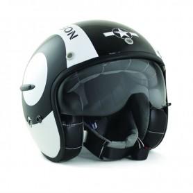 Helmets HARISSON CASQUE HARISSON CORSAIR SNOOKER NOIR BRILLANT CA124