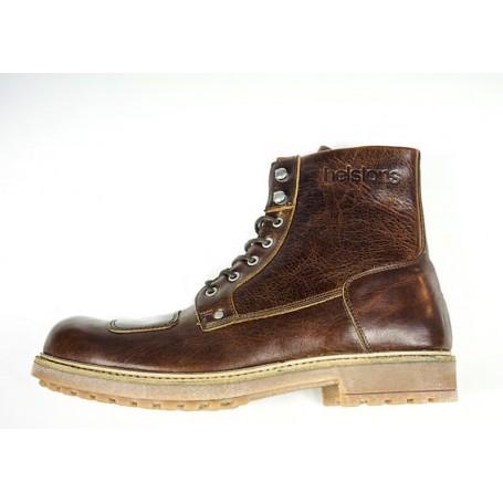 Men's Boots HELSTONS DEMI-BOTTES HELSTONS MOUNTAIN CUIR ANILINE MARRON 20180069 M