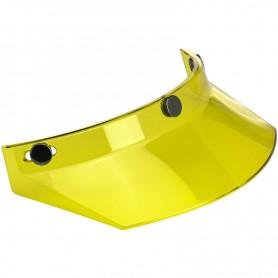 Helmets Visors BILTWELL VISIERE BILTWELL 3 PRESSIONS JAUNE TRANSLUCIDE 2002-103