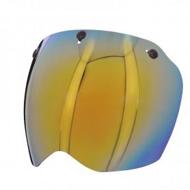 Helmets Screens PREMIER ECRAN PREMIER MX 3 PRESSIONS GOLD CHROME BPVISMXG