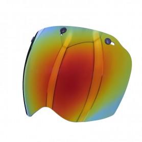 Helmets Screens PREMIER ECRAN PREMIER MX 3 PRESSIONS ROUGE CHROME BPVISMXR