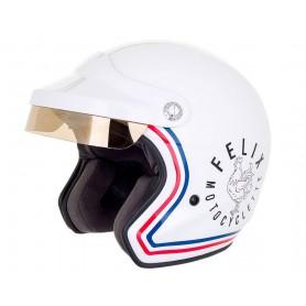Jets Helmets FELIX CASQUERIE CASQUE FELIX CASQUERIE ST520 SIGNATURE BLANC SIGNATURE BLANC