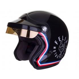 Jets Helmets FELIX CASQUERIE CASQUE FELIX CASQUERIE ST520 SIGNATURE NOIR SIGNATURE NOIR