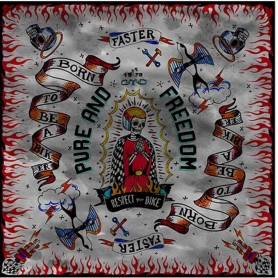 Foulards DMD DMD BANDANA RESPECT D2BDS99401RE00