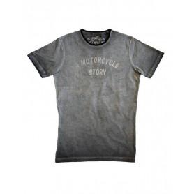 Tee-Shirts Hommes HELSTONS HELSTONS T-SHIRT STORY COTON GRIS 20170054 GR