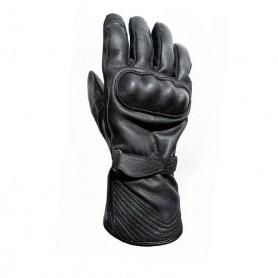 Men's Gloves HELSTONS GANTS HELSTONS ECKO HIVER CUIR CHÉVRE NOIR PRIMALOFT 20180078 NO