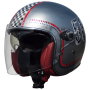CASQUE PREMIER VANGARDE FL CHROMED