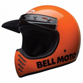 Casques BELL CASQUE BELL MOTO-3 CLASSIC ORANGE FLUO 7081027