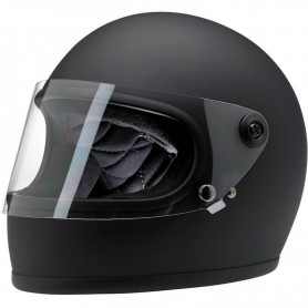 Helmets BILTWELL HELMET BILTWELL GRINGO S FLAT NOIR