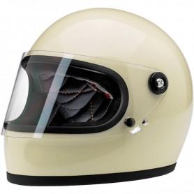 Helmets BILTWELL HELMET BILTWELL GRINGO S GLOSS VINTAGE BLANC