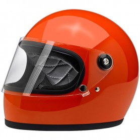 Casques BILTWELL CASQUE BILTWELL GRINGO S GLOSS HAZARD ORANGE