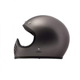 Full Face Helmets DMD CASQUE DMD 1975 MAT METALLIC GRIS D1FFS40000MG