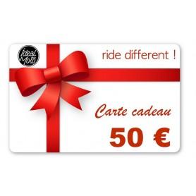 Cartes Cadeaux IDEALMOTO Carte Cadeau Idealmoto 50 € CKDO050