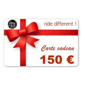 Cartes Cadeaux IDEALMOTO Carte Cadeau Idealmoto 150 € CKDO150