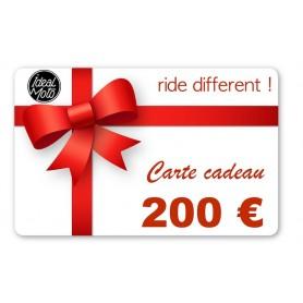 Cartes Cadeaux IDEALMOTO Carte Cadeau Idealmoto 200 € CKDO0200