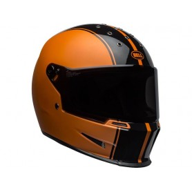 Helmets BELL CASQUE BELL ELIMINATOR RALLY MATTE/GLOSS BLACK/ORANGE