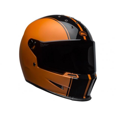 Casques BELL CASQUE BELL ELIMINATOR RALLY MAT/NOIR BRILLANT/ORANGE