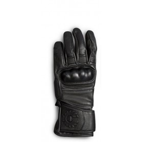 Men's Gloves BELSTAFF GLOVES BELSTAFF HESKETH CUIR NOIR