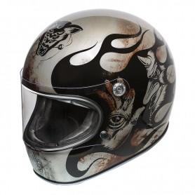 Full Face Helmets PREMIER HELMET PREMIER TROPHY BD TITANIUM TROPHYBDTIT