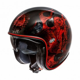 Casques PREMIER CASQUE PREMIER VINTAGE NX RED CHROMED
