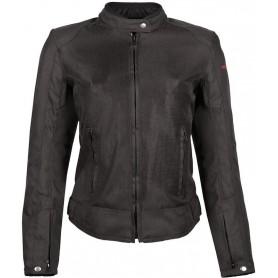Women's Jackets HELSTONS BLOUSON HELSTONS DISTRICT FEMME TISSU-MESH NOIR 20140038 NO