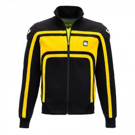 Men's Jackets BLAUER BLAUER EASY RIDER BLACK/JAUNE JACKET BLV234