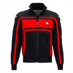 Men's Jackets BLAUER BLAUER EASY RIDER BLACK/RED JACKET BLV232