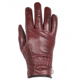Women's Gloves HELSTONS GANTS HELSTONS FEMME CRISSY CUIR BORDEAUX