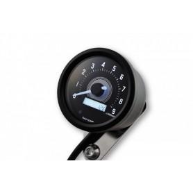 Tachometers DAYTONA DAYTONA COMPTE TOUR VELONA NOIR A LED FOND BLANC 8 000 TR / MIN 88644
