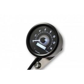 Tachometers DAYTONA DAYTONA COMPTE TOUR VELONA NOIR A LED FOND BLANC 8 000 TR / MIN 88677