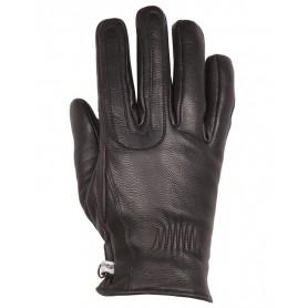Women's Gloves HELSTONS GANTS HELSTONS YOU LADY HIVER CUIR CHÉVRE NOIR FEMME 20180088 NO