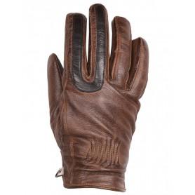 Women's Gloves HELSTONS GANTS HELSTONS YOU LADY HIVER CUIR CHÉVRE CAMEL-NOIR FEMME 20180088 CN