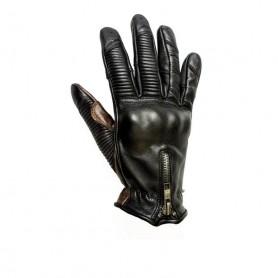 Women's Gloves HELSTONS GANTS HELSTONS STELLA ÉTÉ CUIR SOFT NOIR 20160163 NO