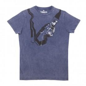 Tee-Shirts Hommes HELSTONS T-SHIRT HELSTONS VISOR COTON BLEU