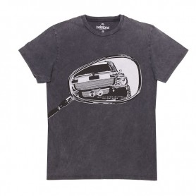 Tee-Shirts Hommes HELSTONS T-SHIRT HELSTONS RETRO COTON NOIR