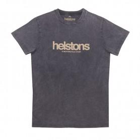 Tee-Shirts Hommes HELSTONS T-SHIRT HELSTONS CORPORATE COTON NOIR